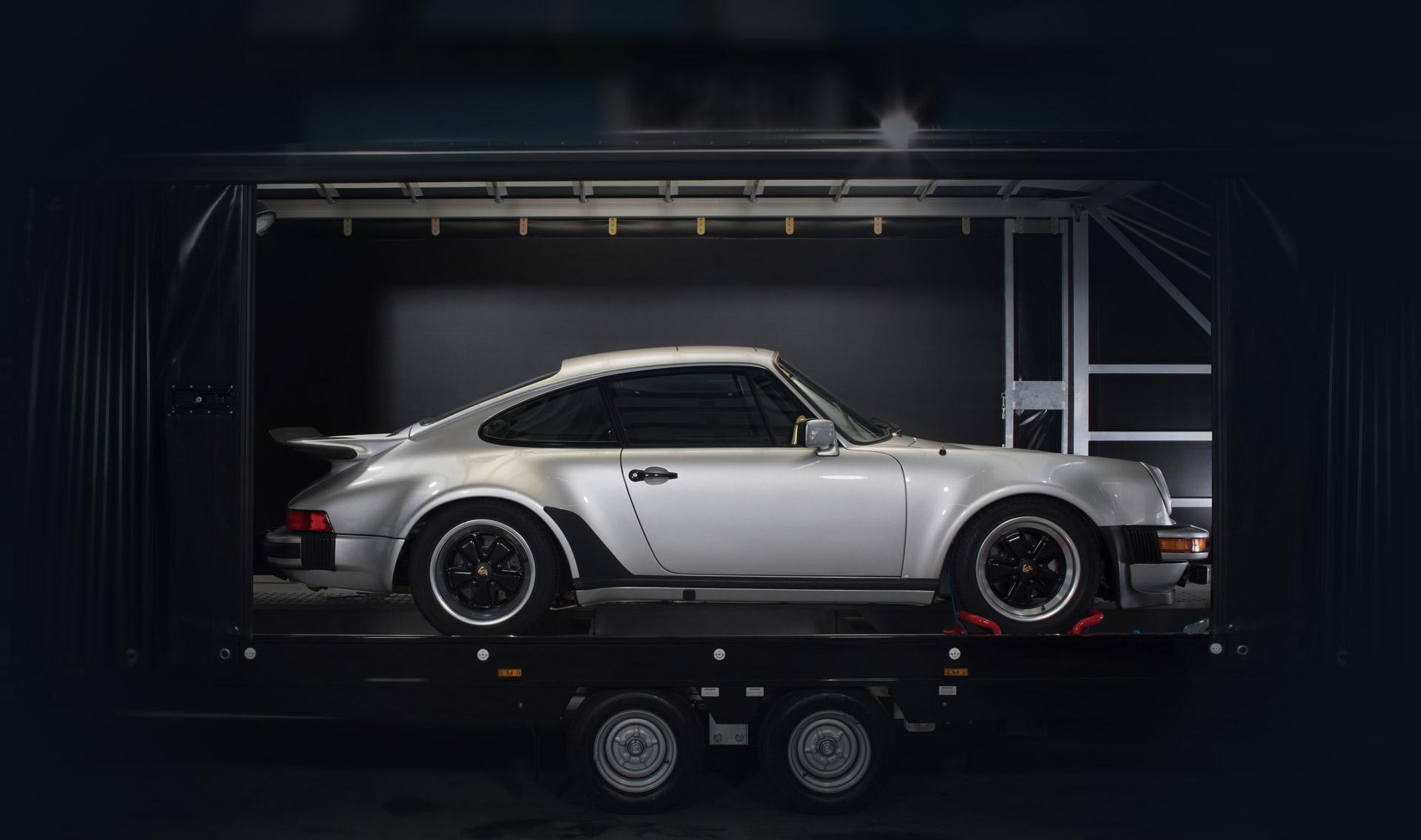 Porsche 930 Turbo Seitenansicht