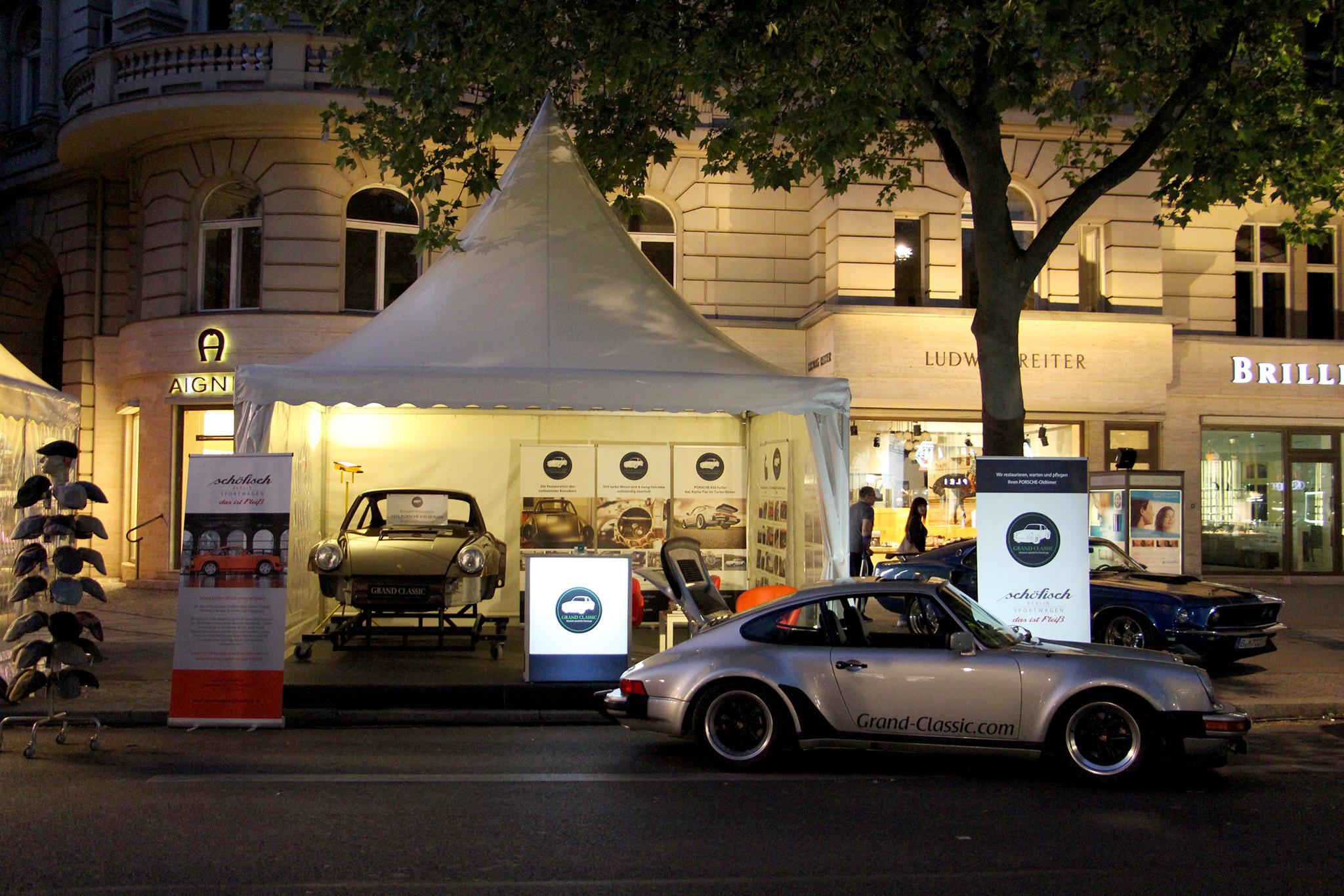 Classic Days Berlin 2017 Porsche 930 Turbo Nacht