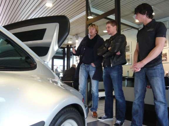 Praesentation Des Neuen Porsche 911 Turbo Bild05