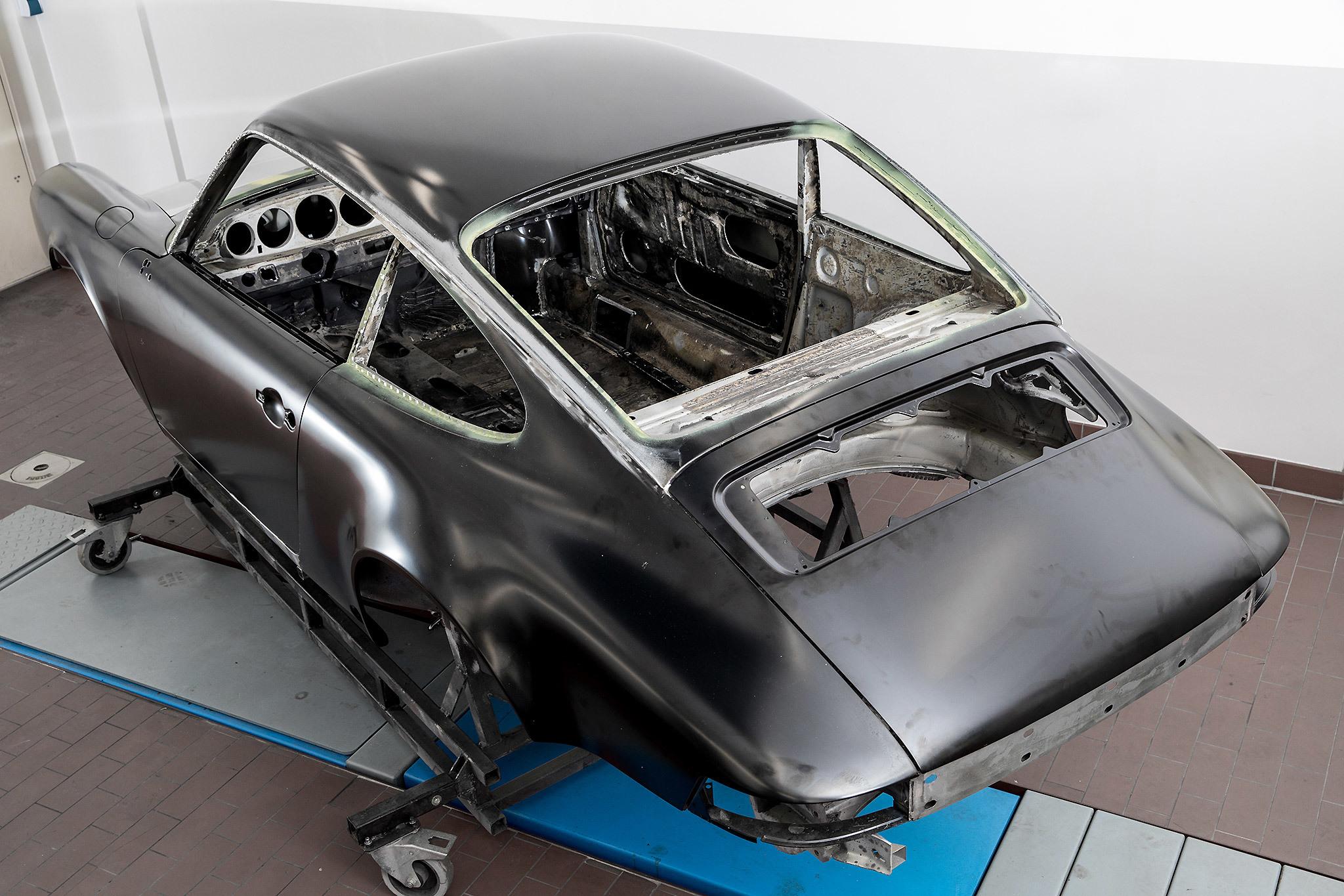 X Bionic Porsche Carrera 3 0 Restaurations Projekt 2017 Bild01