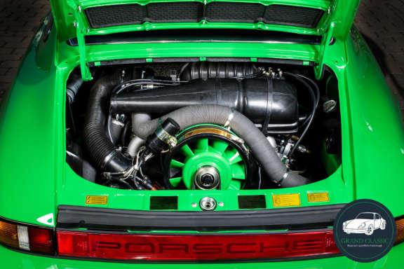 Grand Classic Wallpaper Porsche 911 S Motorraum
