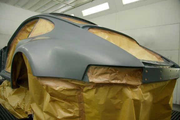Lackierarbeiten Porsche