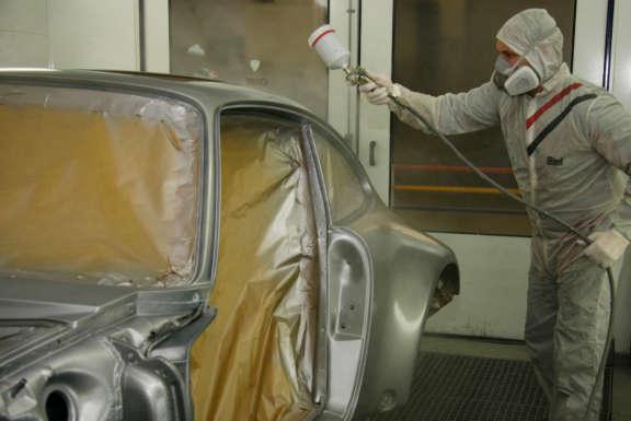 Galerie1 Bild3 Lackierarbeiten Porsche
