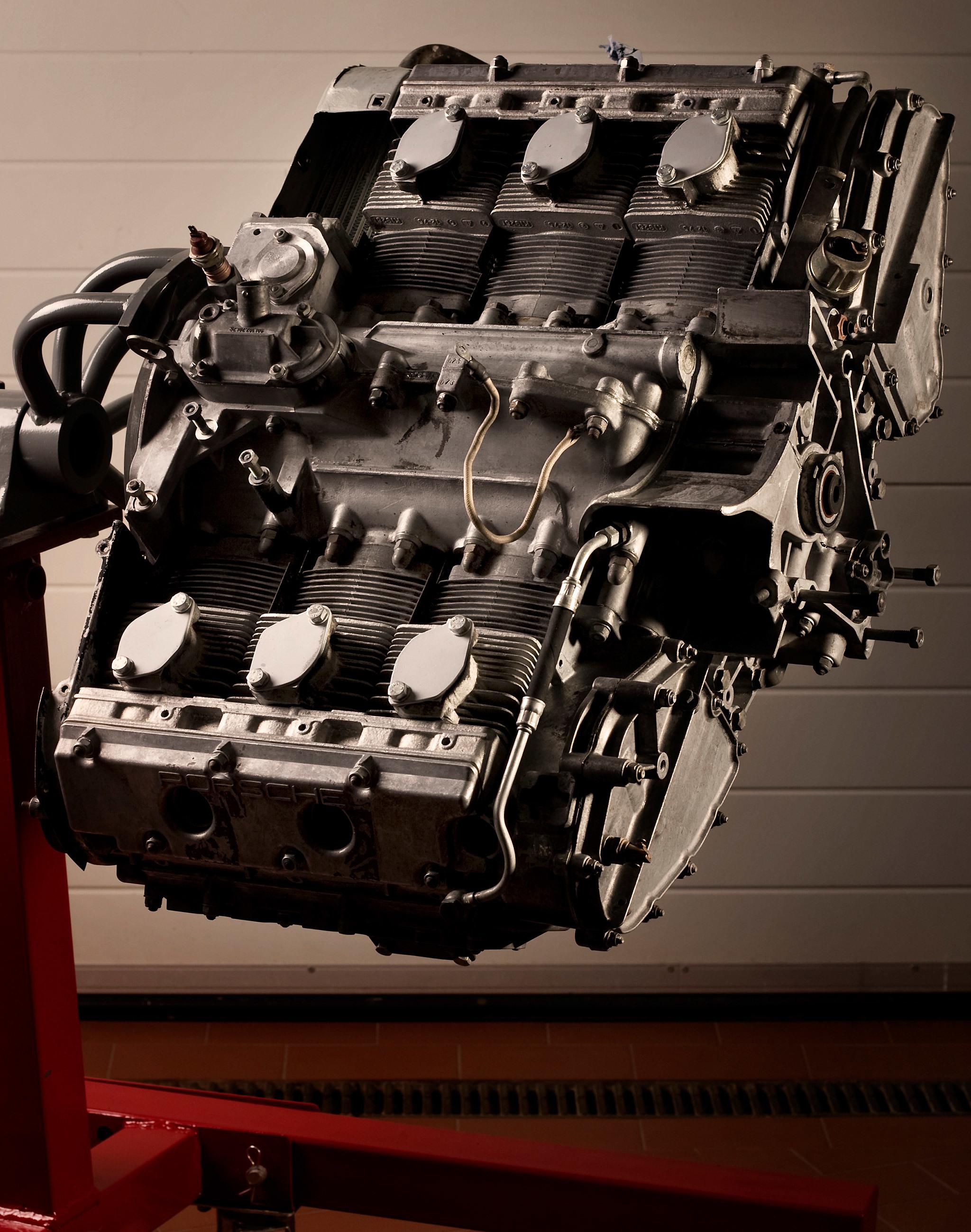 Unrestaurierter Motor Porsche 930