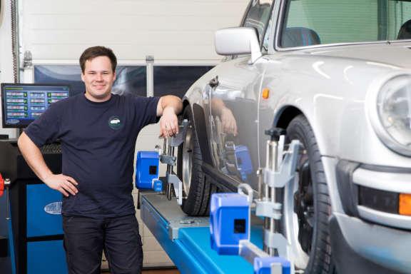 Porsche Reparatur Wartung und Pflege