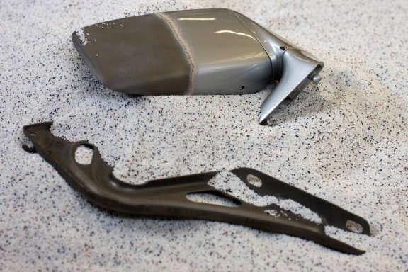 Kunststoffstrahlen Porsche Teile