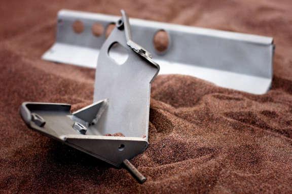 Sandstrahlen Porsche Teile