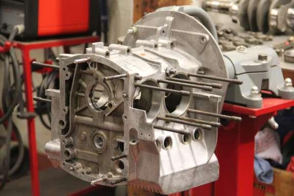 Überholung Porsche 912 Motor