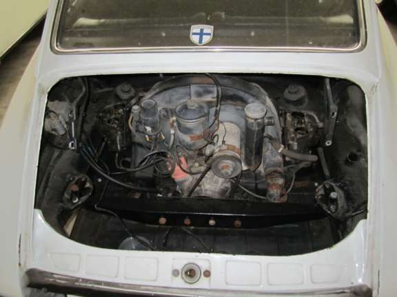 Demontage Porsche 912