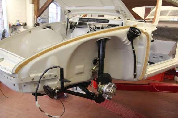Endmontage Porsche 912
