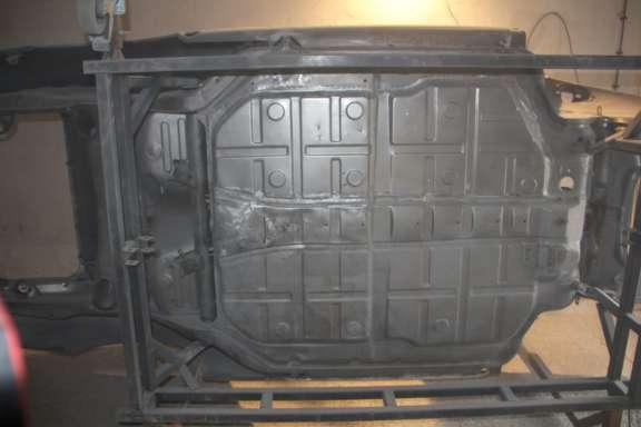 Kunststoffstrahlen Karosse- und Anbauteile