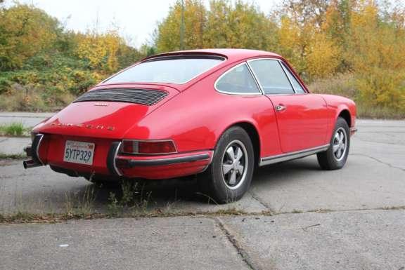 1969 Porsche 911 E 2 0 Demontage Bild01