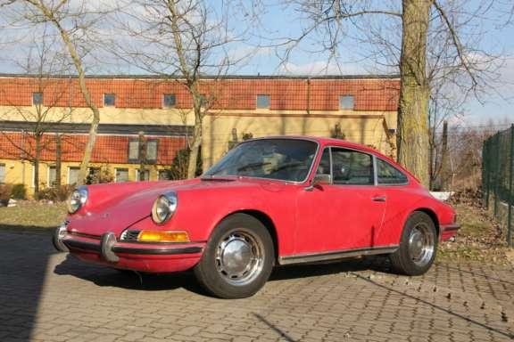 1969 Porsche 912 1 6 Demontage Bild01