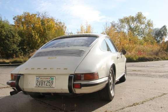 1970 Porsche 911 E 2 2 Demontage