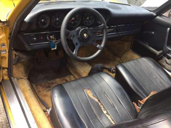 1973 Porsche 911 T 2 4 Demontage Bild03