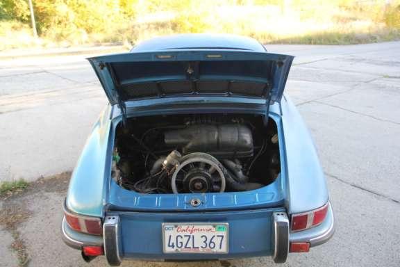 1973 Porsche 911 T 2 4 Demontage Bild01