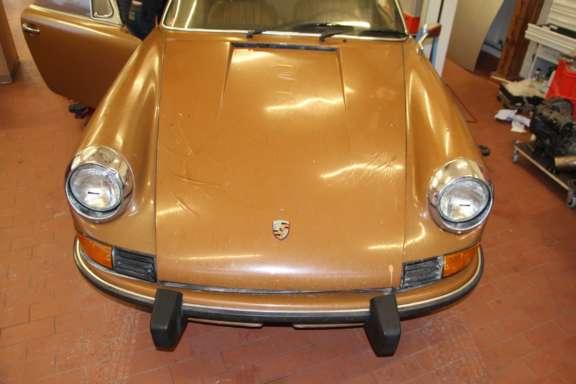 1973 Porsche 911 T 2 4 Demontage Bild04