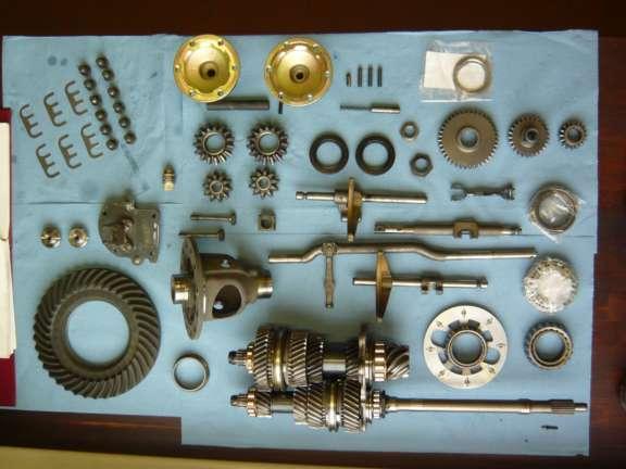 Überholung Porsche 930 4-Gang Getriebe