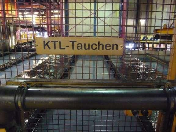 KTL-Beschichtung Karosse