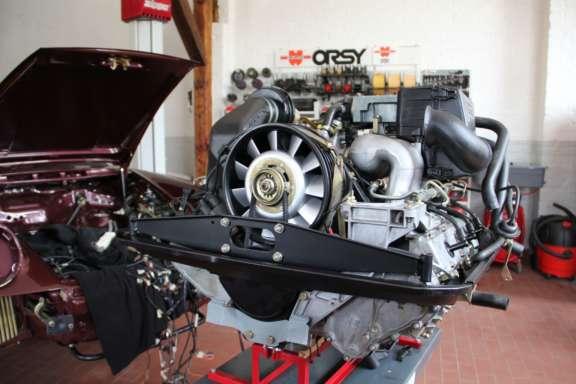 Prüfung und Neuabdichtung Motor
