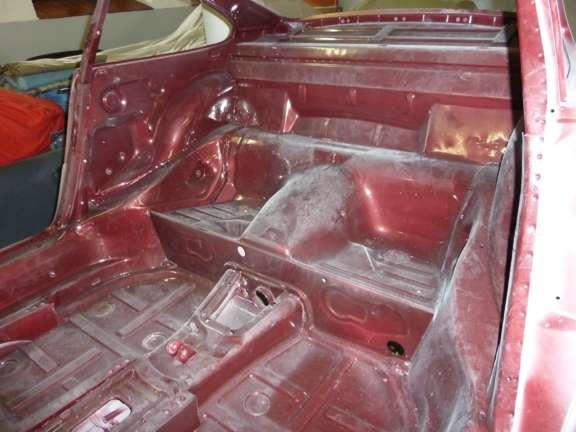 Karosse zerlegter 911 Carrera 3.2
