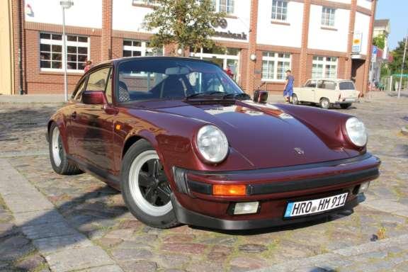 Restaurations-Ergebnis - Porsche 911 Carrera 3.2 (Rubinrot-metallic)